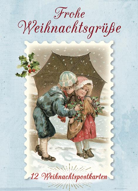 Religiöse Weihnachtskarten.Frohe Weihnachtsgrüße Kaufmann Verlag